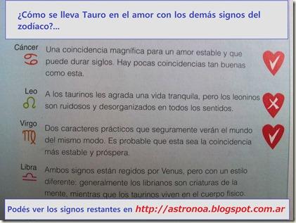 Tauro amor 3
