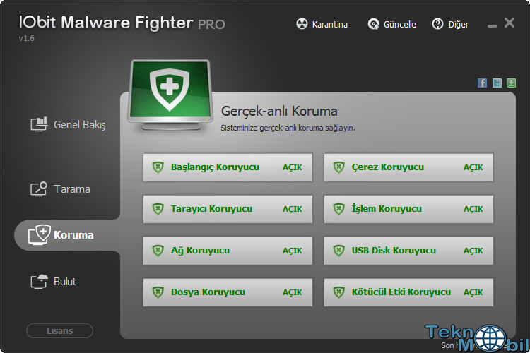 IObit Malware Fighter Pro v2.4.1.18 Türkçe Full