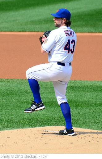 'R.A. Dickey Pitching In His 20th Win' photo (c) 2012, slgckgc - license: http://creativecommons.org/licenses/by/2.0/