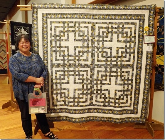 Kim Bodman winner Novice Quilter