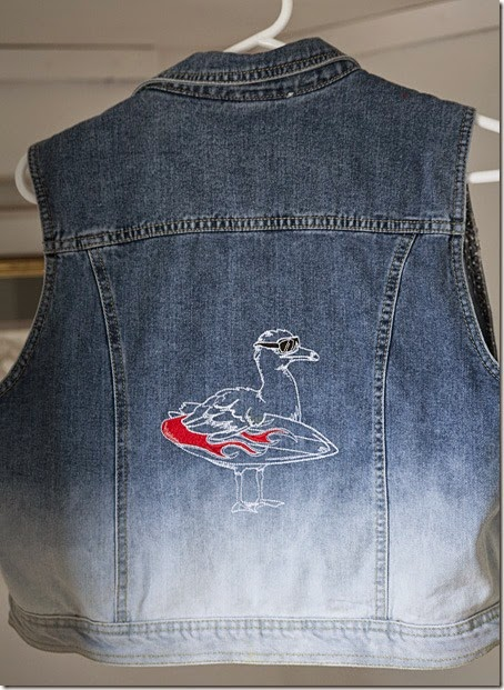 Surf Bird Waistcoat1