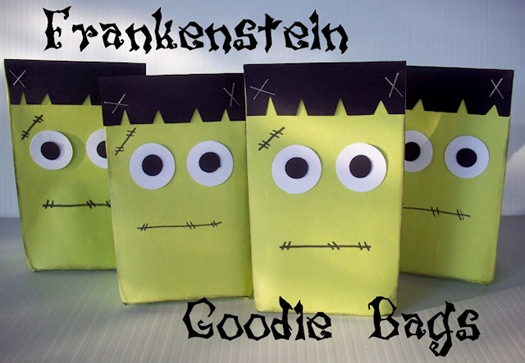 Frankenstein Halloween Goodie Bags