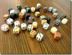 stone dice