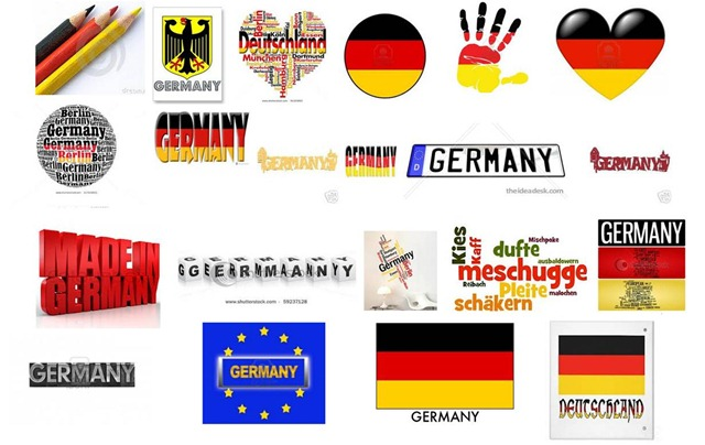 Germany word google results mashup
