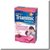 triaminic strips