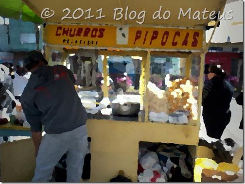 Pop Corn & Churros vendedor ambulante