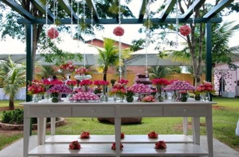 Como decorar un jard n para una fiesta dise o y for Casa y jardin revista de decoracion