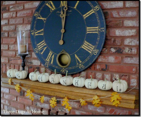 Fall family room decor1