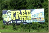 Advert Free Steak
