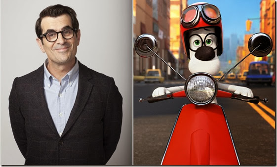 ty burrell as the voice of MR PEABODY