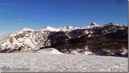 Vista desde la cima de Ulzigagna