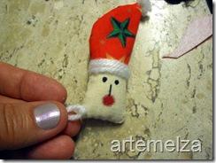 Шить - лицо Санта-Клаус-35