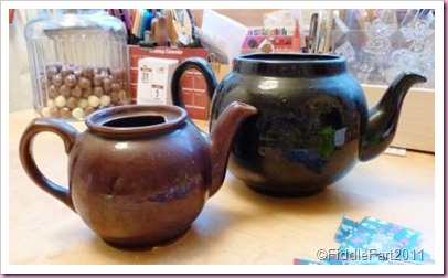 Decopatch Teapots