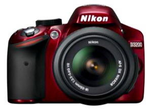 Nikon-D3200-in-RED