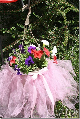 Obseussed Diy Flower Basket Tutu Dance Teacher Thank You