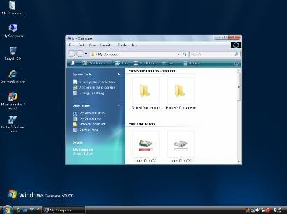 Windows 7 theme for Windows XP