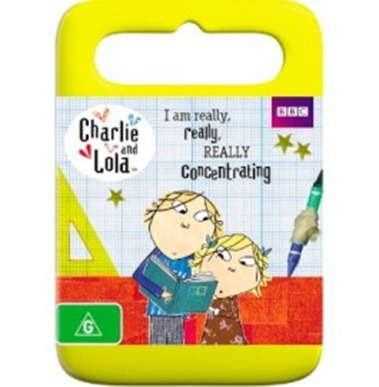 Charlie and Lola - I am really really really concentrating
