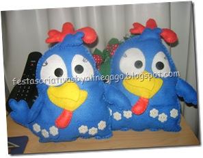 galinhas para Andréia Sales
