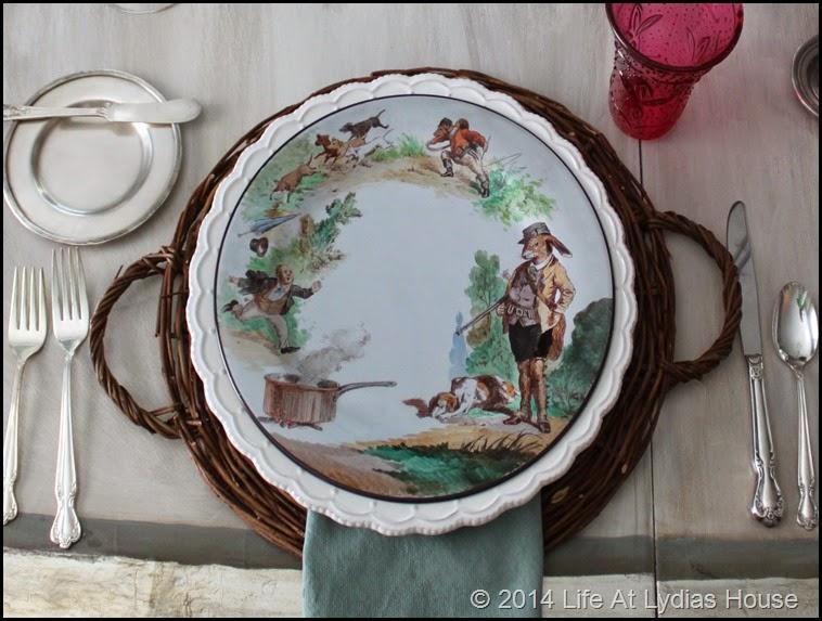 Parisian plate 1