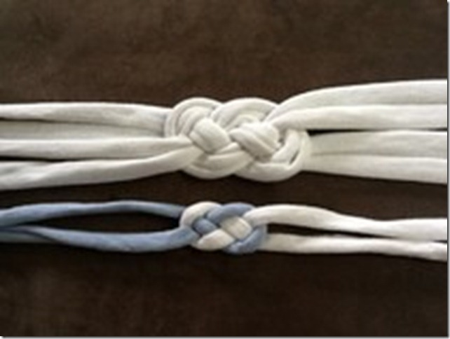 homemade mamas knotted headband