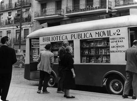 bibliobus espa&ntilde;a