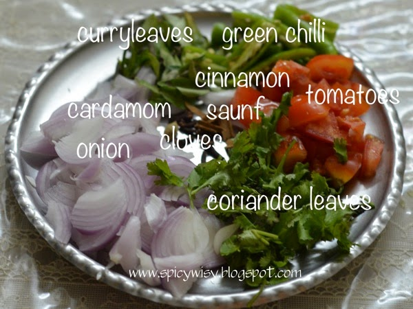 Ingredients fish fry