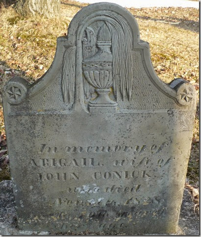 CONICK_Abigail_1828_headstone_SchuylerLakeCem_SchuylerLake_Otsego_New York