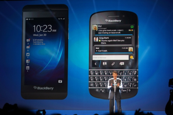 Blackberry 10 launch 2 q10 z10