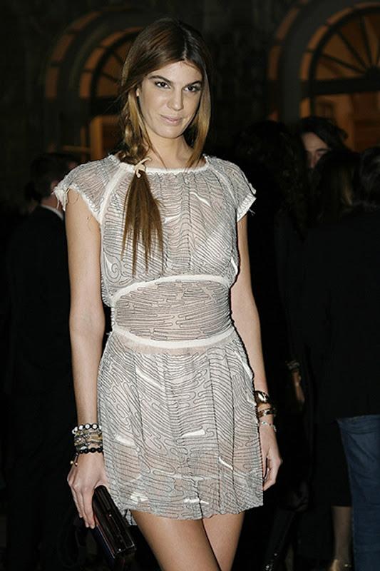 Bianca Brandolini d'Adda<br /><br />Party Vogue A/I 10-11<br />Milano<br />26/02/10<br />©SGP<br />ID 46313