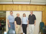 June: Mike Cuno, Rich Eisenman, Doree Sobel, Dave DuBois