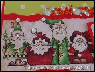 Christmas Card Santas
