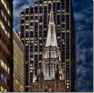 Chicago Temple Building (Church on Top of a Skyscraper) - 2010