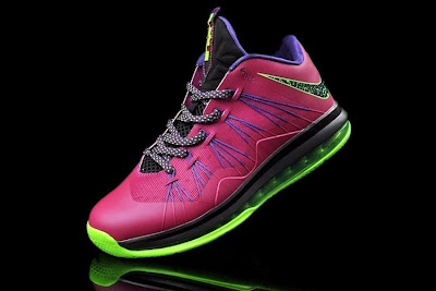 Release Reminder: NIKE LEBRON X LOW Raspberry (579765 601)