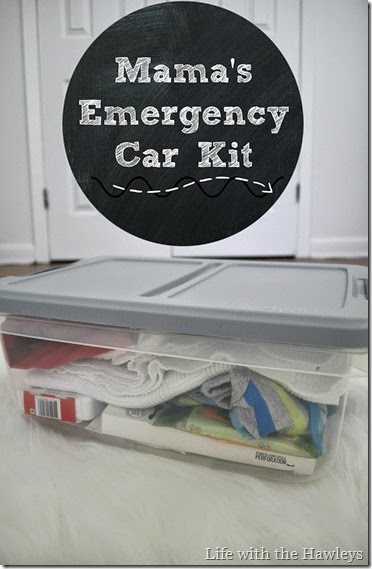 Mamas Emergency Car Kit