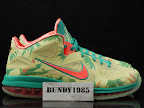 nike lebron 9 low pe lebronold palmer 6 01 Nike LeBron 9 Low LeBronold Palmer Alternate   Inverted Sample