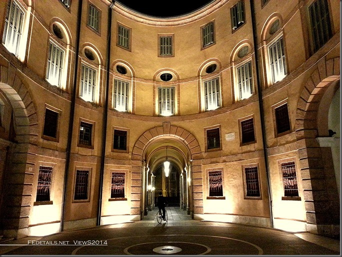 Rotonda Foschini, Teatro Comunale, Ferrara