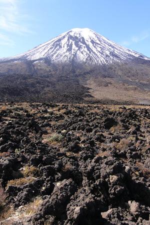 Tongariro Crossing, catre Mordor