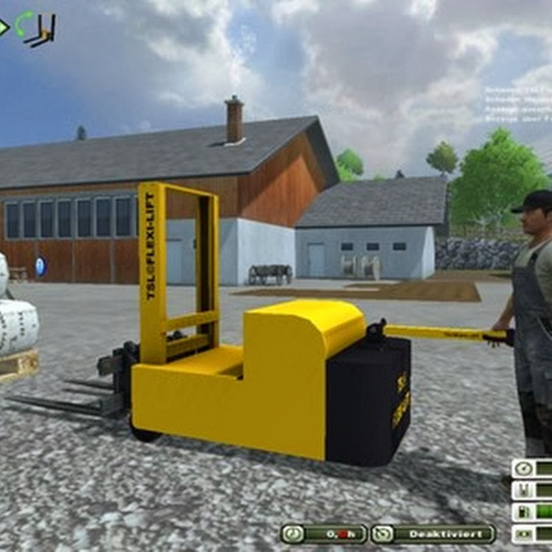 Farming simulator 2013 - Genkinger EGG12 electric v 1.0