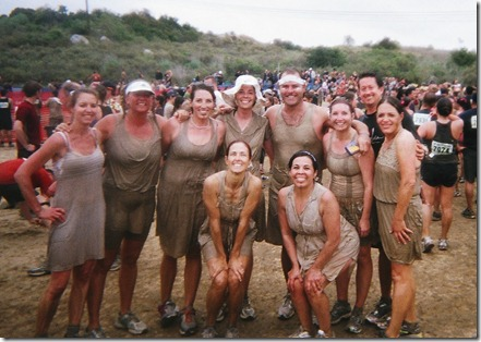 Camp Pendleton Mud Run after the race