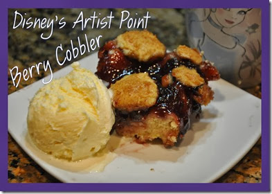 Disney Artist Point Berry Cobbler