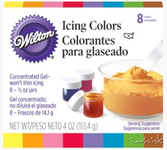 8 icing colors