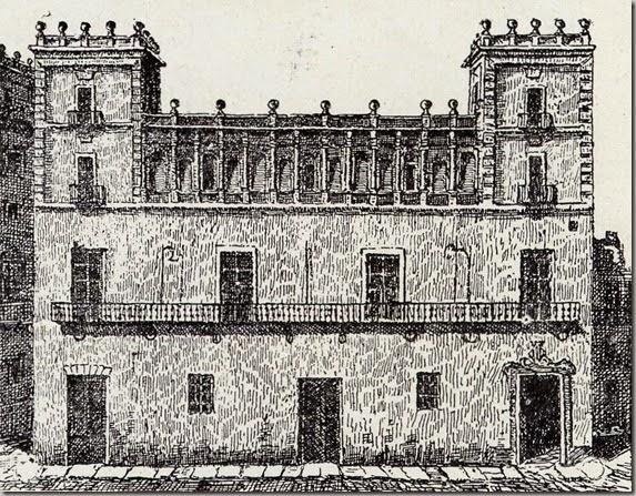 Ayuntameinto de Valencia edificado en 1312