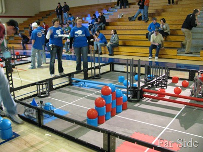 Robots getting ready