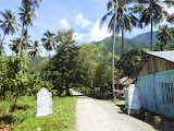 The entrance to Desa Jono, a starting point of the hike to Bulu Nti (Dan Quinn, June 2013)