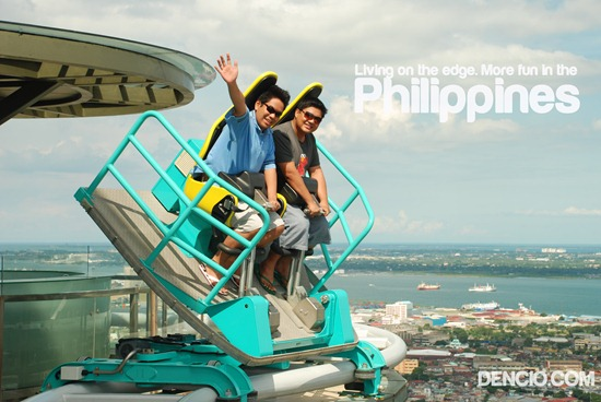 Living on the edge. More Fun in the Philippines