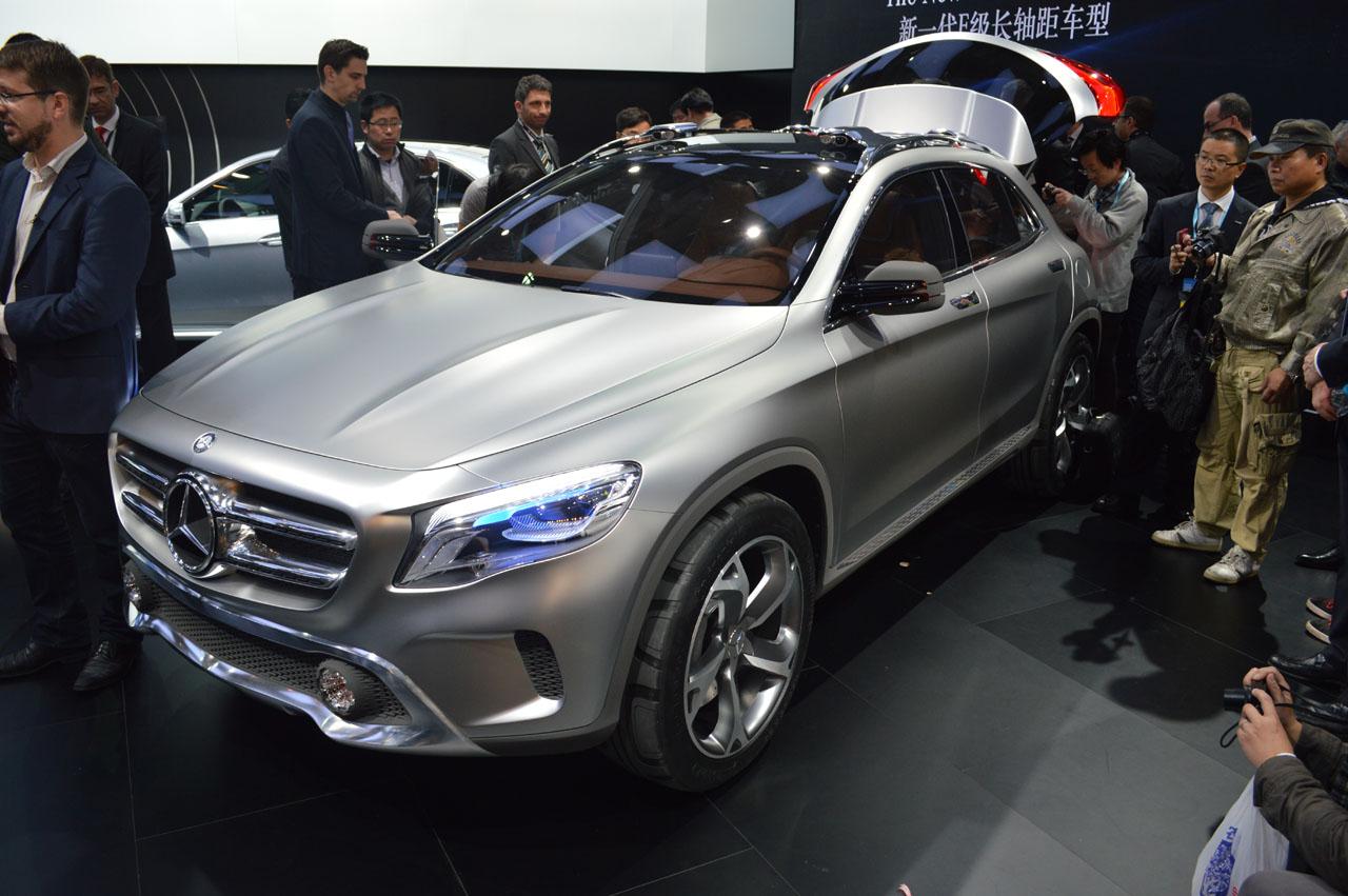 Mercedes-Benz Yeni GLA Kompakt Crossover Konsept Çalışmasını