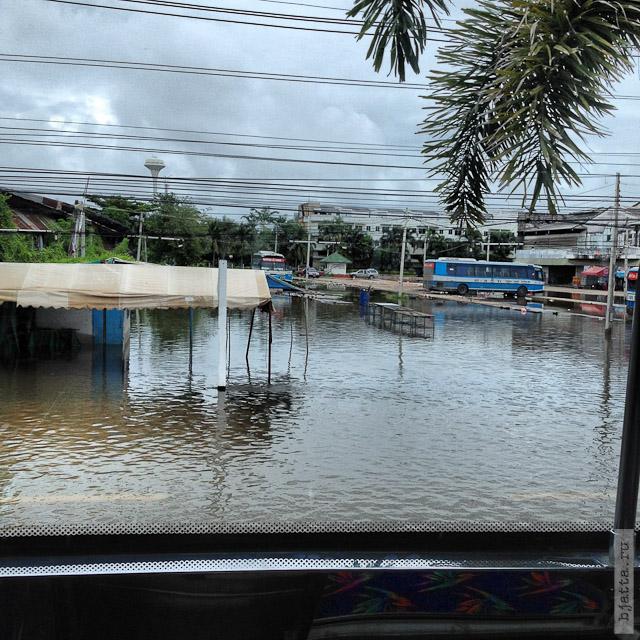 6. Сезон дождей. Таиланд 2555. Thailand