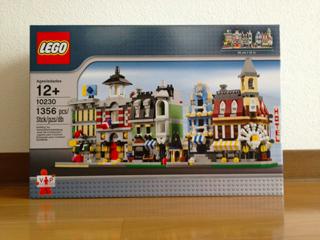 LEGO: 10230 Mini Modularsを組む[その0]