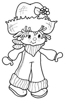 Desenho da Moranguinho para colorir3