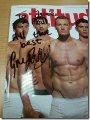 greg rutherford autograph